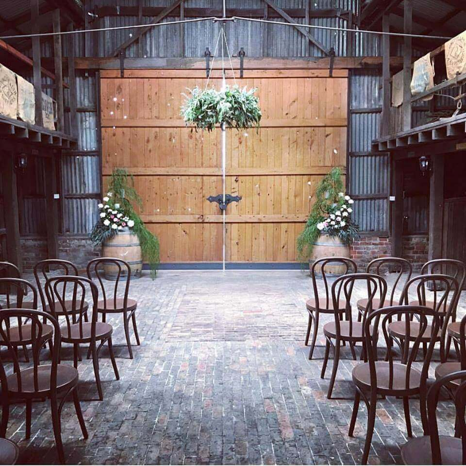 barn ceremony location